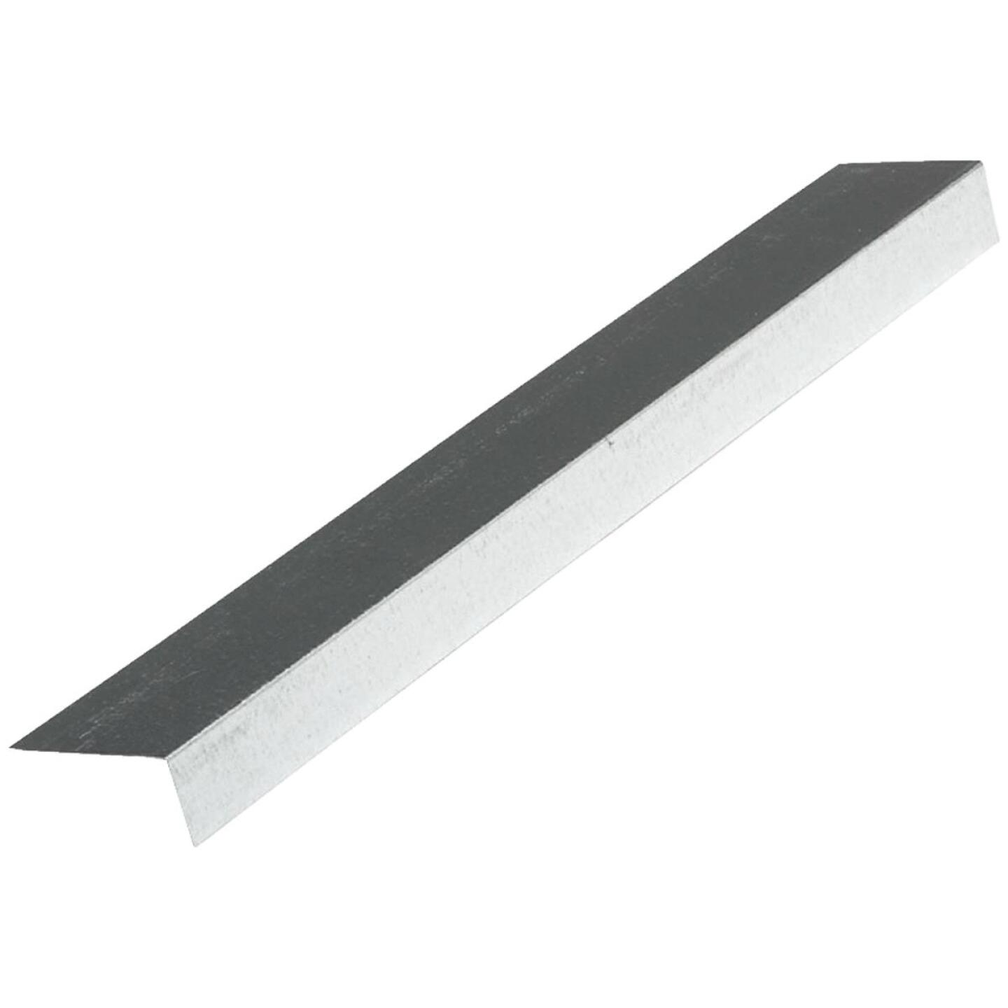 NorWesco A 1 In. X 2 In. Galvanized Steel Roof & Drip Edge Flashing Image 1