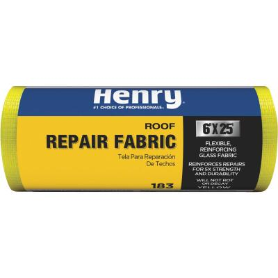 Henry 6 In. x 25 Ft. Yellow Glass Reinforcing Fabric