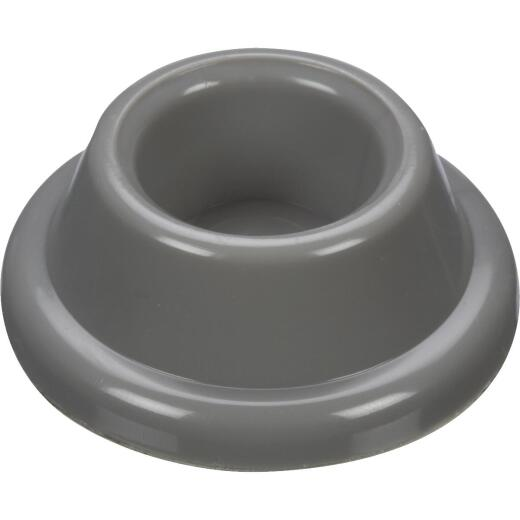 National V237 Gray Wall Door Stop