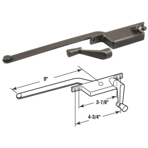 Prime-Line Right Hand Bronze Casement Operator