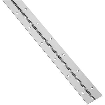 National 1-1/2 In. x 48 In. Stainless Steel Continuous Hinge