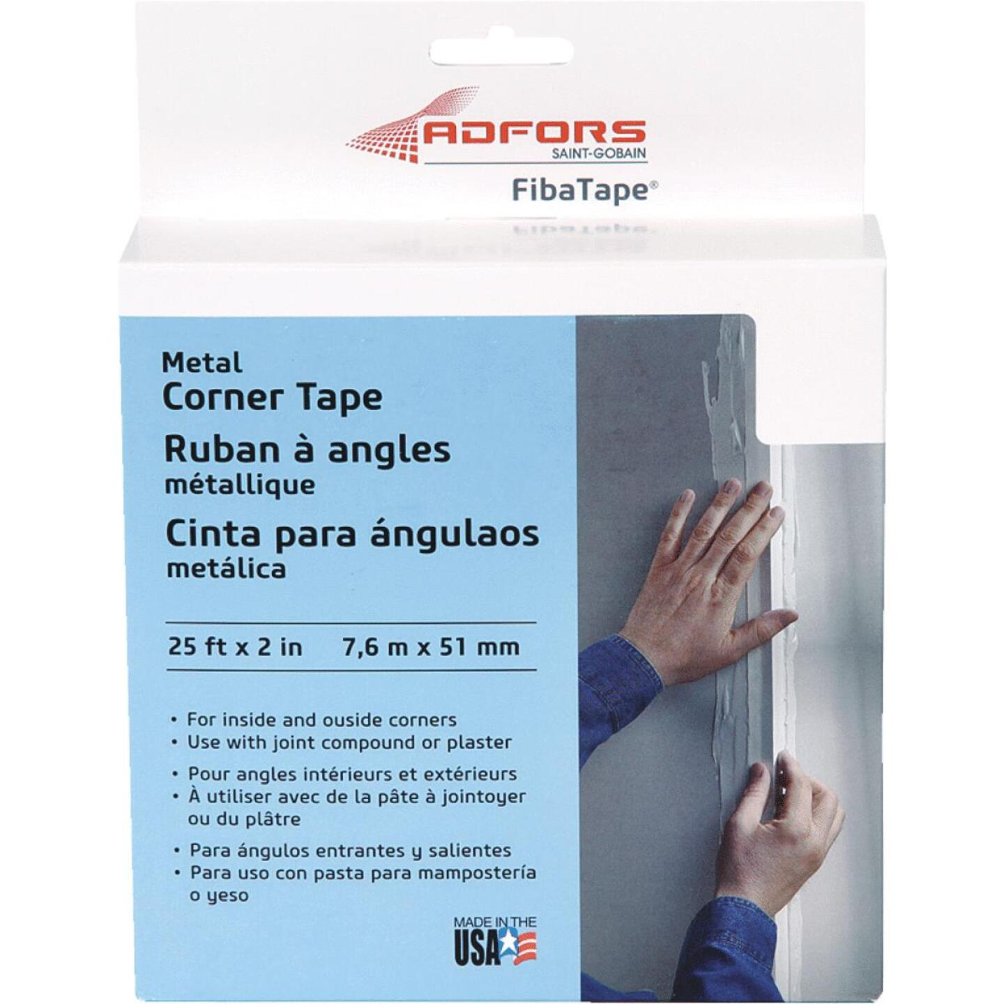 FibaTape 2 In. x 25 Ft. Steel Reinforced Corner Drywall Tape Image 1