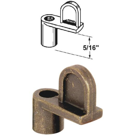Prime-Line 5/16 In. Bronze Swivel Die-cast Screen Clips With Screws (12 Count)