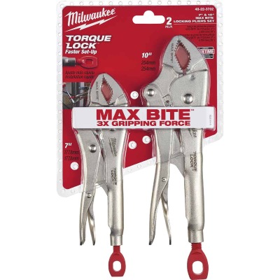 Milwaukee Torque Lock Locking Pliers Set (2-Piece)