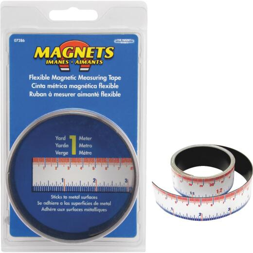 Master Magnetics 3 Ft. Flexible Measuring Tape