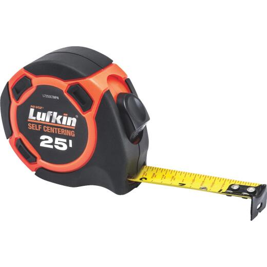Lufkin Hi-Viz 25 Ft. Self-Centering Tape Measure