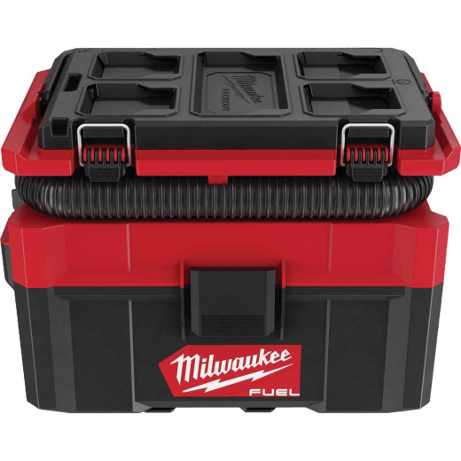 Milwaukee M18 FUEL 18 Volt Lithium-Ion Brushless 2.5 Gal. PACKOUT Wet/Dry Vacuum (Bare Tool)