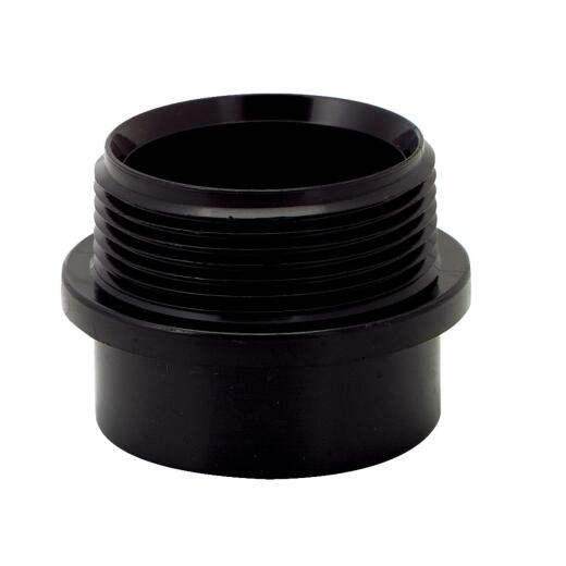 Charlotte Pipe 1-1/2 In. Spigot x MIP Fitting ABS Adapter