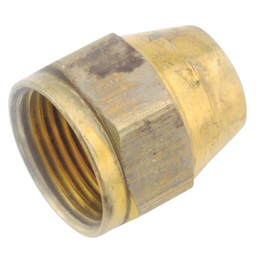 Anderson Metals 3/8 In. Brass Flare Nut Connector Fitting