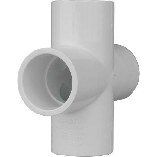 Charlotte Pipe Schedule 40 1 in. PVC Pipe Cross