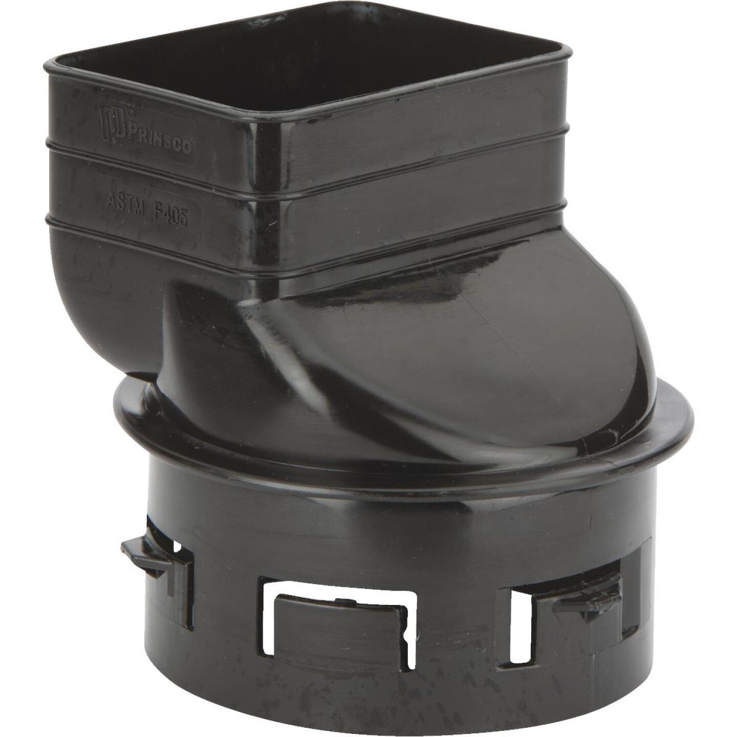 NDA Prinsco 2 In. X 3 In. X 3 In. Or 4 In. Offset Downspout Adapter Image 1