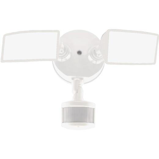 Halo Lumen Selectable White Square Head Motion Activated LED Floodlight Fixture