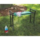 Best Garden Green Foam Pad w/Black Steel Frame Garden Kneeler Bench Image 13