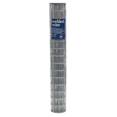 48 In. H. x 50 Ft. L. (2x4) Galvanized Welded Wire Fence