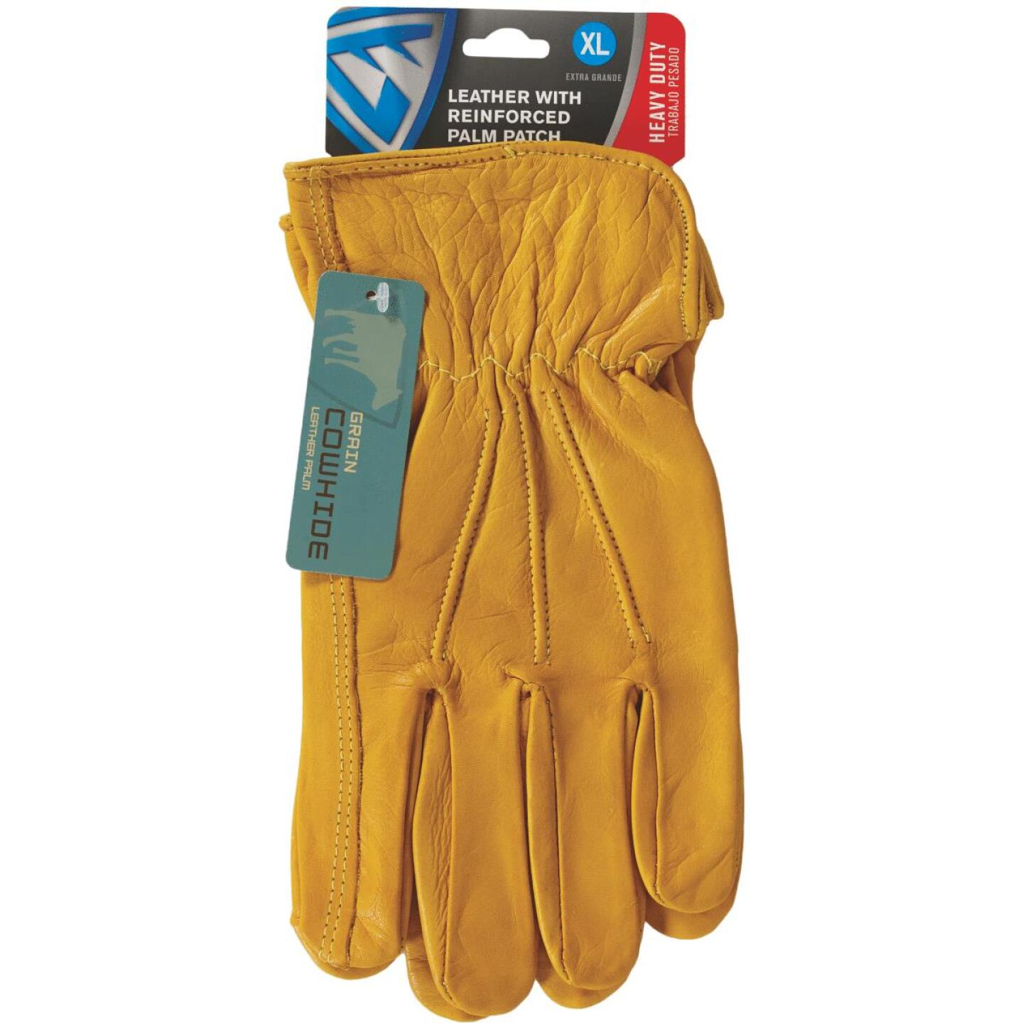West Chester Protective Gear Men's XL Grain Cowhide Leather Work Glove Image 3