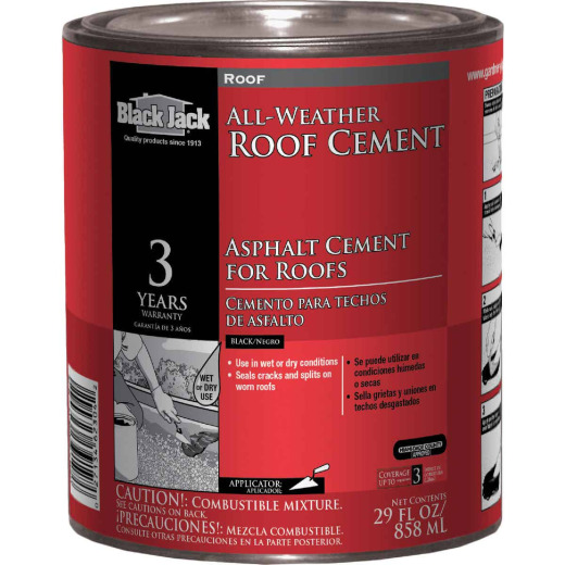 Black Jack 1 Qt. All-Weather Roof Cement